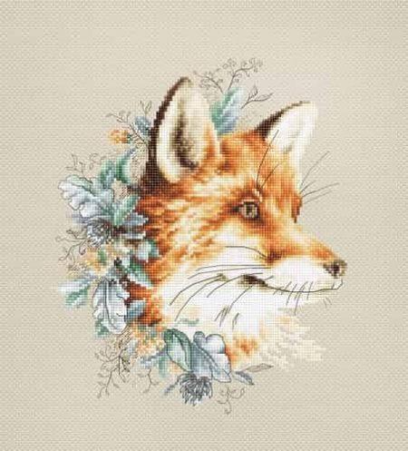 Luca S Cross Stitch Kit - The Fox B2292