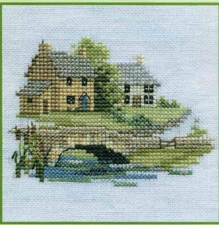 Derwentwater Designs Cross Stitch Kit - Minuets - Brookside