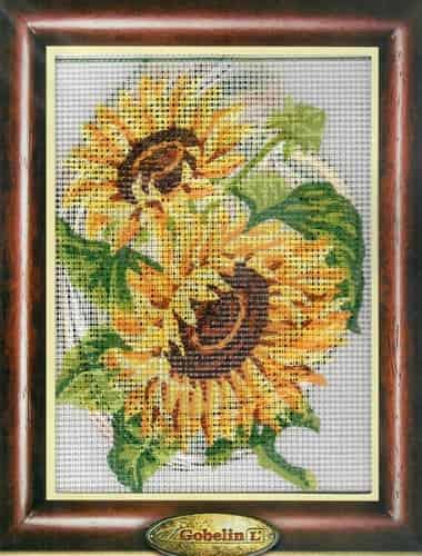 Gobelin Needlepoint Tapestry Kit - Sunflowers