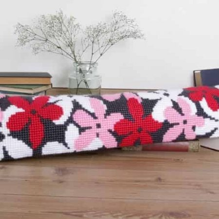 Twilleys of Stamford Draught Excluder Cross Stitch Kit - Flourish, Flowers