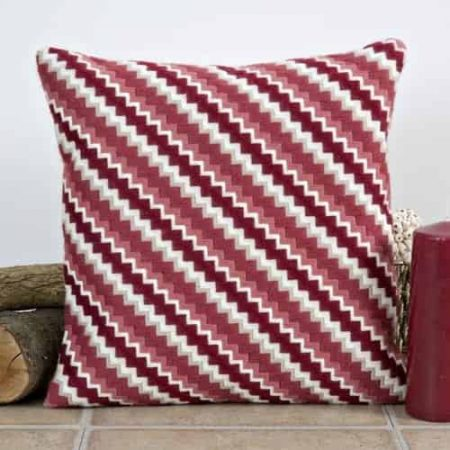 Twilleys of Stamford Long Stitch Kit - Cushion Front, Zig Zag