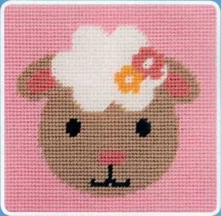 Anchor Beginners Tapestry Kit - Smiling Lamb