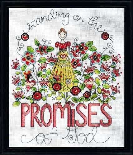 Design Works Cross Stitch Kit - Promises