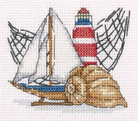 Klart Cross Stitch Kit - Little Lighthouse