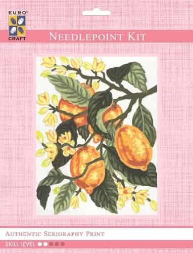 Grafitec Needlepoint Tapestry Kit - Lemons
