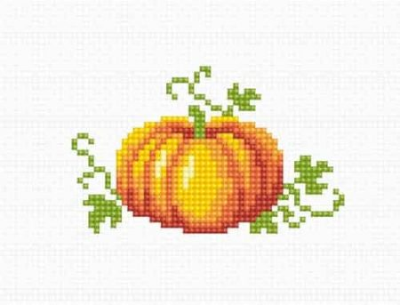 Luca S Cross Stitch Kit -  Pumpkin