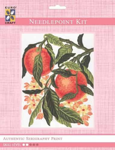 Grafitec Needlepoint Tapestry Kit - Oranges