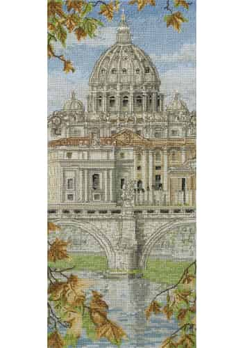 Anchor Cross Stitch Kit - St Peter's Basilica PCE0815