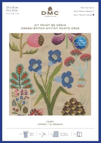 DMC Cross Stitch Kit - Forest BK1934