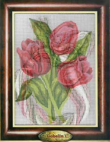 Gobelin Needlepoint Tapestry Kit - Tulips