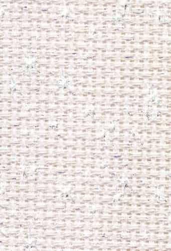 "DMC Charles Craft Iridescent 14 count Pink Aida 15"" x 18"" (38cm x 45cm)"