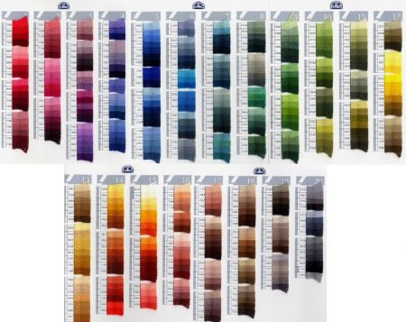 DMC Tapestry Wool £1.62 for the first skein; £0.62p for additional skeins