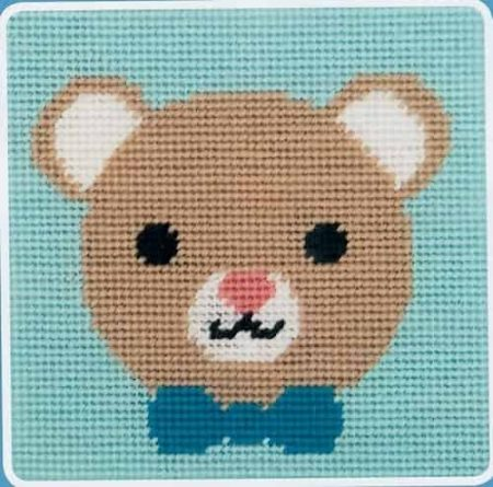 Anchor Beginners Tapestry Kit - Lovable Bear