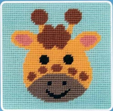 Anchor Beginners Tapestry Kit - Curious Giraffe