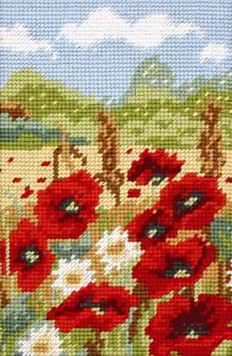 Anchor Tapestry Kit - Poppy Field MR922