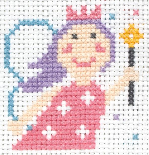 Anchor beginners st cross stitch kit lola princess