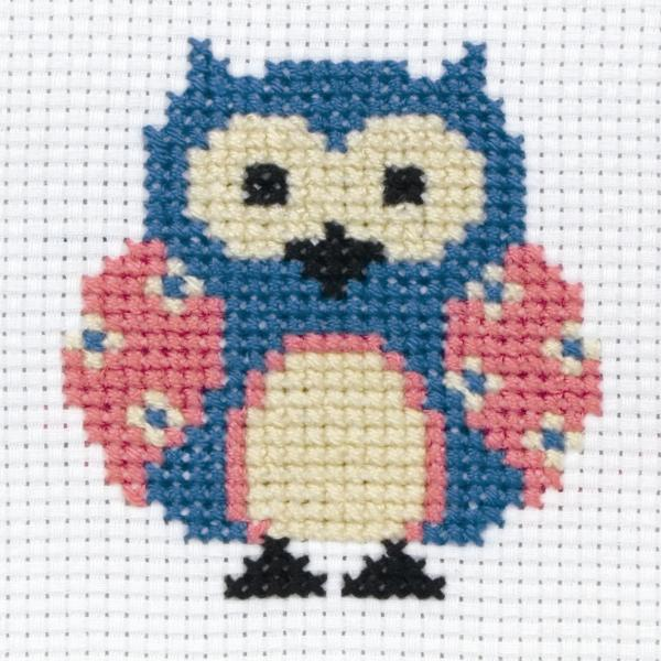 Anchor Beginners 1st Cross Stitch Kit - Zoe Owl 10001