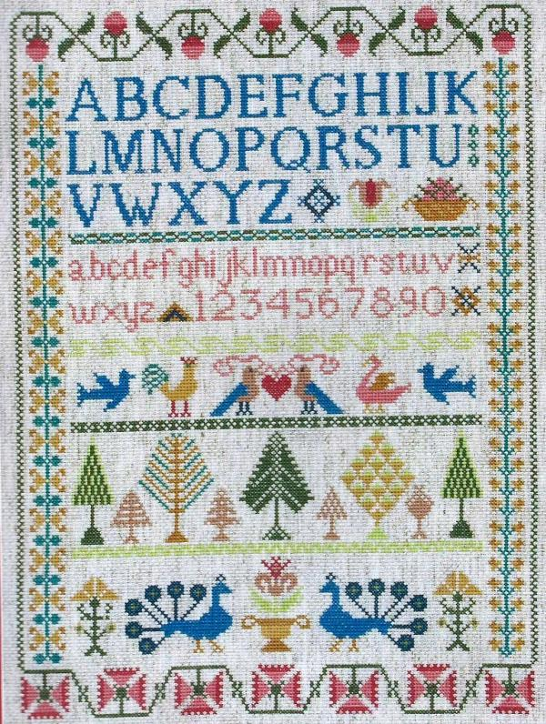 Anchor Cross Stitch Kit - Victorian Sampler CC78962