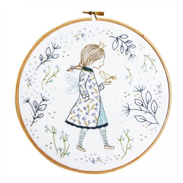 DMC Embroidery Kit - Winter Fairy by Tamar Nahir-Yanai - TMREMB51