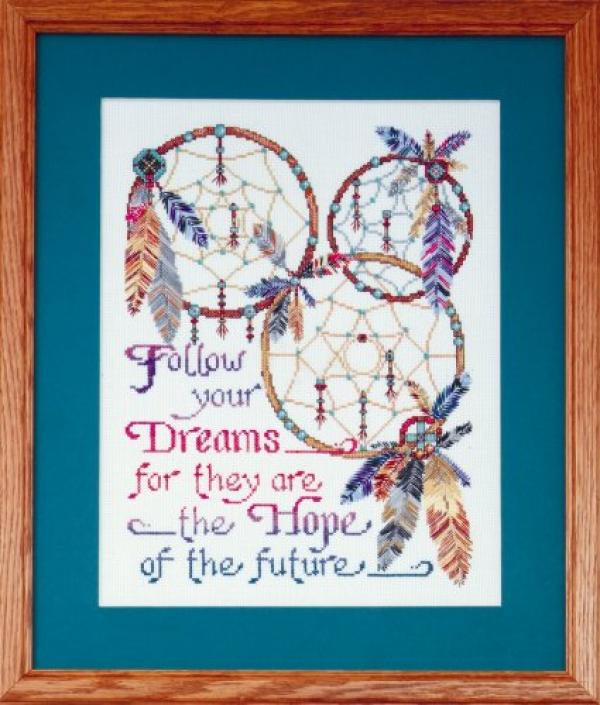Design Works Cross Stitch Kit - Dreamcatchers