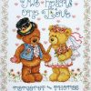 Design Works Cross Stitch Kit - Two Hearts