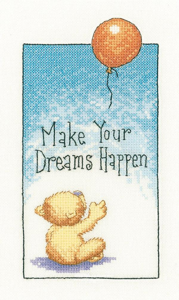 Heritage Crafts Cross Stitch Kit - Cats Rule, Make your dreams happen