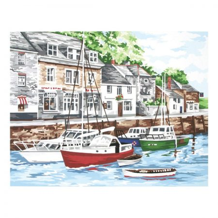 Anchor Needlepoint Tapestry Kit - Padstow Harbour KT119