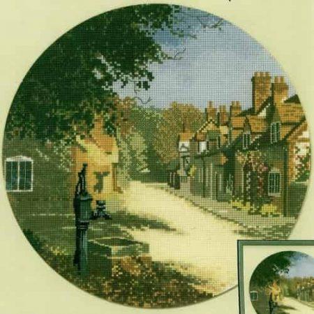 Heritage Crafts Cross Stitch Kit – John Clayton – Circles – The Old Pump