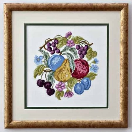 Twilleys of Stamford Cross Stitch Kit - Abundance, Fruit