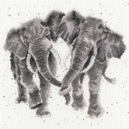 Bothy Threads Cross Stitch Kit - Age is Irrelephant, Elephant XHD27