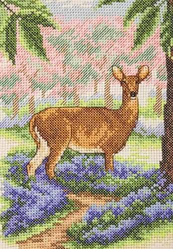 Anchor Cross Stitch Kit - Deer