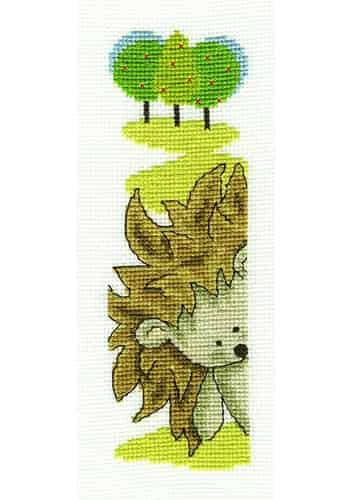 DMC Cross Stitch Kit - Bookmark - Looking Out BK1684