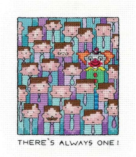 Heritage Crafts Cross Stitch Kit - Always One