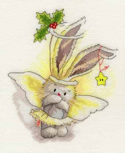 Bothy Threads Bebunni Cross Stitch Kit - Angel XBB4