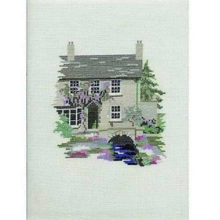 Derwentwater Designs Cross Stitch Kit - Dales Designs - Mill Cottage
