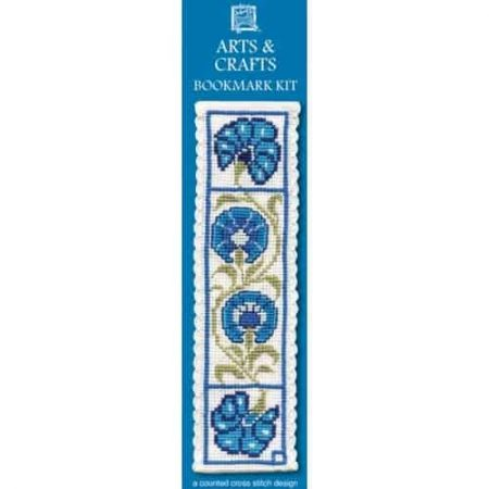 Textile Heritage Cross Stitch Kit - Bookmark - Arts and Crafts - Made in Scotland