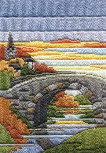 Derwentwater Designs Long Stitch Kit - Seasons Autumn Evening