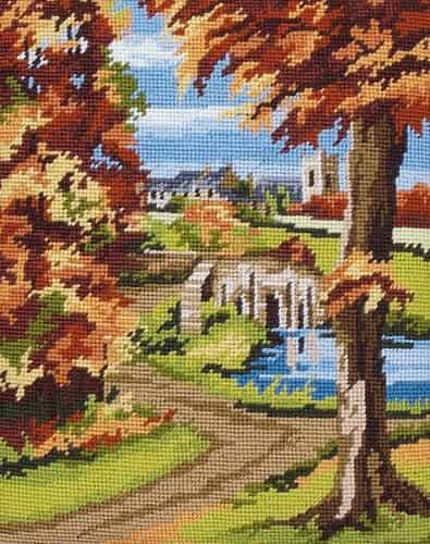 Anchor Tapestry Kit - Autumn Scene MR843