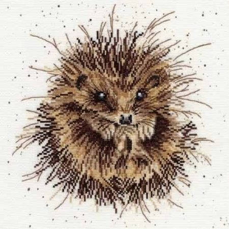 Bothy Threads Cross Stitch Kit - Awakening, Hedgehog XHD15