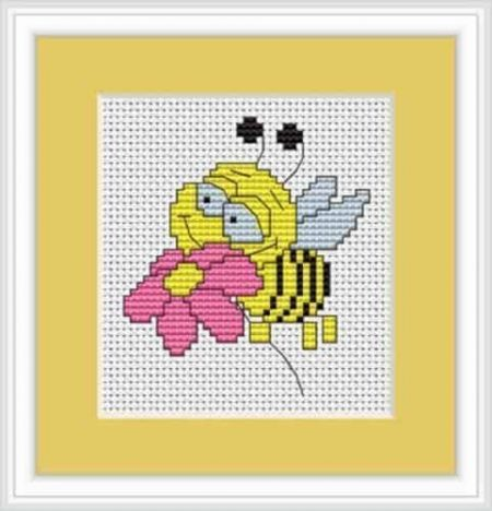 Luca S Cross Stitch Kit - Bee