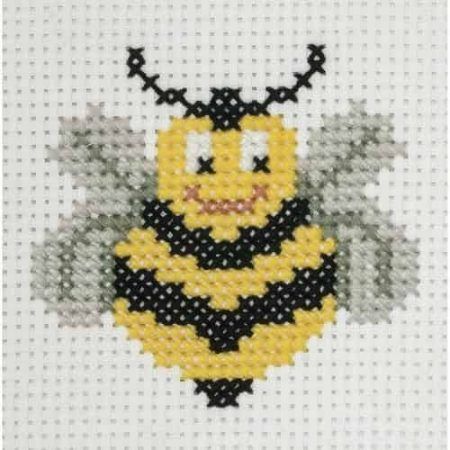 Anchor Beginners 1st Cross Stitch Kit - Bee 10019