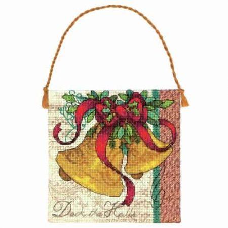Dimensions Gold Petites Cross Stitch Kit - Christmas Ornament - Bells