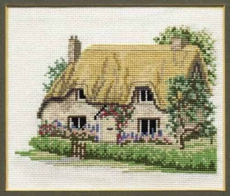 Derwentwater Designs Cross Stitch Kit - Bettys Cottage