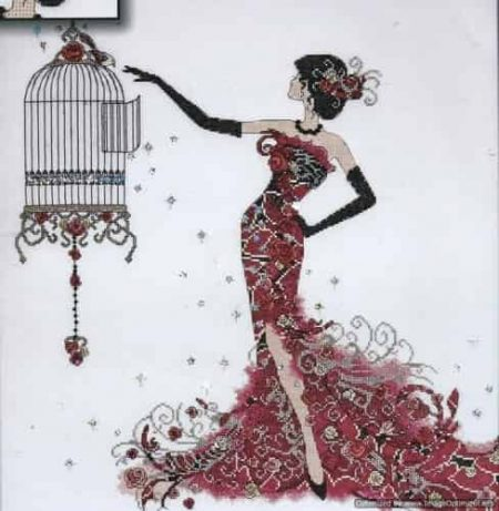 Design Works Cross Stitch Kit - Birdcage