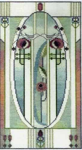 Derwentwater Designs Cross Stitch Kit - Love Birds, Mackintosh