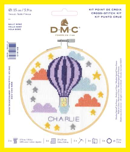 DMC Cross Stitch Kit - Hello Baby BK1910