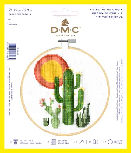 DMC Cross Stitch Kit - Cactus BK1911