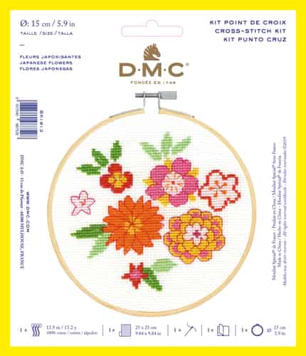 DMC Cross Stitch Kit - Cat BK1914