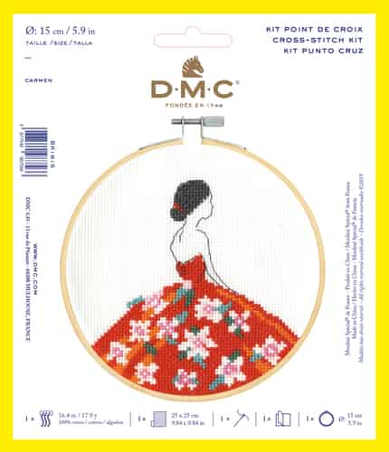 DMC Cross Stitch Kit - Carmen BK1915