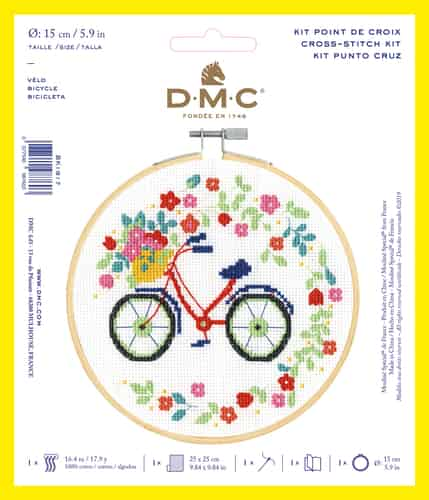 DMC Cross Stitch Kit - Bicycle BK1917